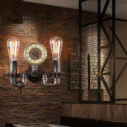 Retro Loft Style Industrial Vintage Wall Light Fixtures