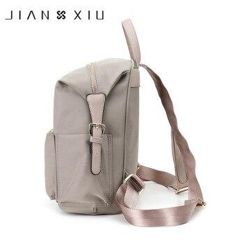 JIANXIU Brand Backpack Mochilas School Bags Casual Oxford Backpacks Travel Mochilas Mujer Ultra-light Waterproof New Back Pack