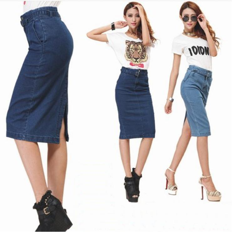 Aliexpress.com : Buy New 2014 Autumn Skirts Womens Casual Knee ...