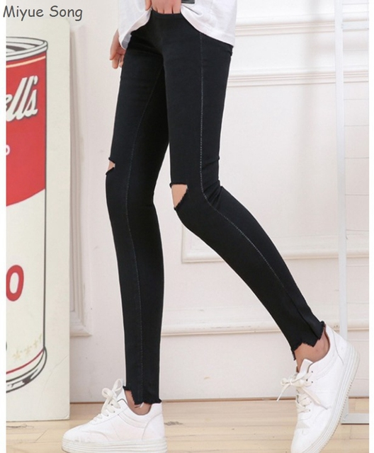 Maternity Pencil Pants Jeans For Pregnant Women 2018 Spring Summer Belly Legging Pregnancy Trousers Overalls Clothes