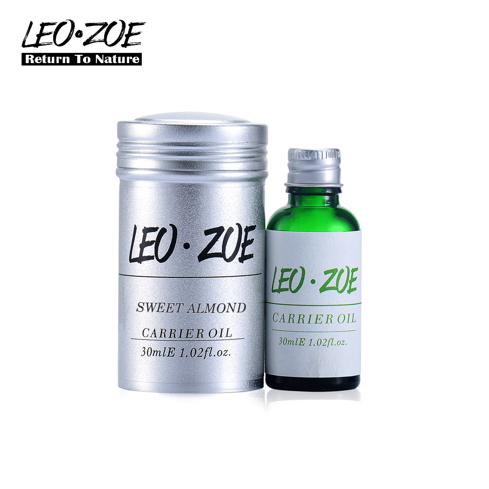 Well-known brand LEOZOE Sweet almond oil Certificate of origin France High quality Aromatherapy Sweet almond oil 30ML well known brand leozoe pure castor oil certificate origin us authentication high quality castor essential oil 30ml100ml