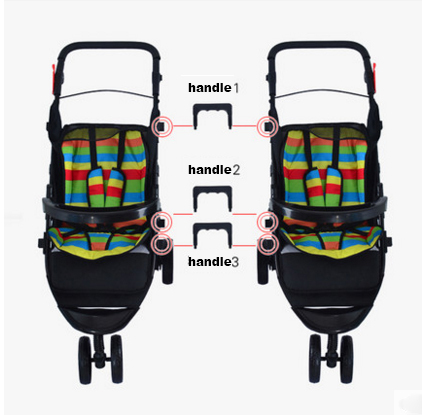 Infants and twin baby stroller double shock can split multiple birth children can sit flat folding full bottle   free delivery 3