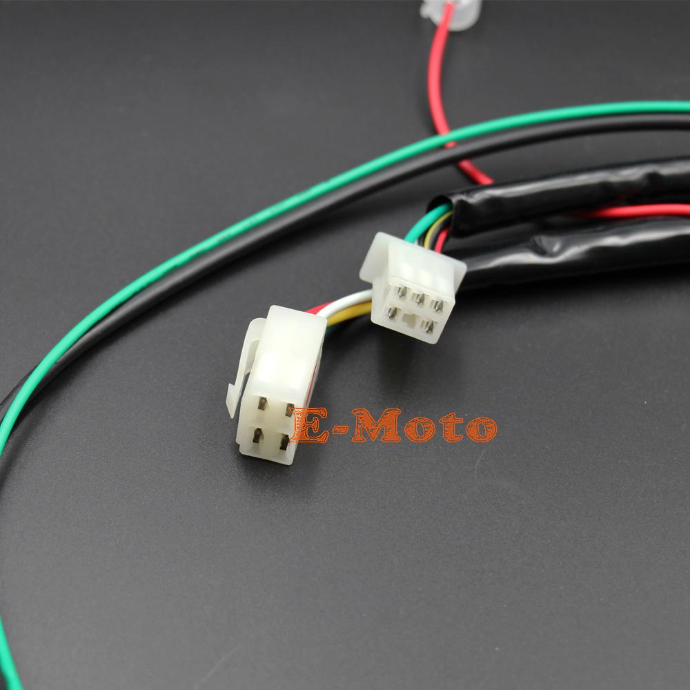 engine wiring harness loom for chinese 50cc 70cc 90cc 110cc 125cc pit quad dirt bike atv dune buggy new in motorbike ingition from automobiles motorcycles  [ 1000 x 1000 Pixel ]
