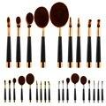 9 pcs Pro Escova Pincéis de Maquiagem Conjunto de Pincel de Maquiagem Definir Multiuso Super Nice Escova Pincel de Maquiagem #87455