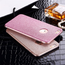 Hot Shinning Sparkling Candy Color Glitter Bling Fundas Capa Soft TPU Phone Cases Cover For iPhone 5 5G 5S SE 6 6G 6S 6Plus 5.5