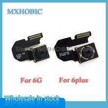 10 ชิ้น/ล็อตด้านหลังกล้อง Flex Cable สำหรับ iPhone 6 6G Plus 4.7 5.5 Big กล้องอะไหล่จัดส่งฟรี