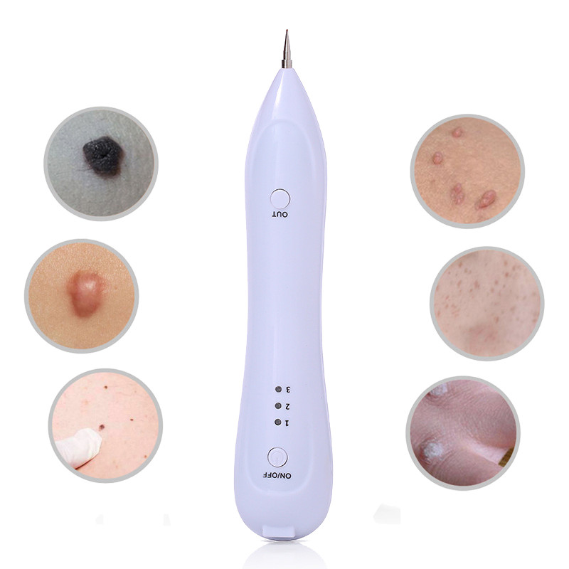 Electric Laser Face Wart Skin Tag Tattoo Removal Pen Black Dots Dark Spot Mole Remover Freckle Removal Machine Beauty Care ToolsElectric Laser Face Wart Skin Tag Tattoo Removal Pen Black Dots Dark Spot Mole Remover Freckle Removal Machine Beauty Care Tools