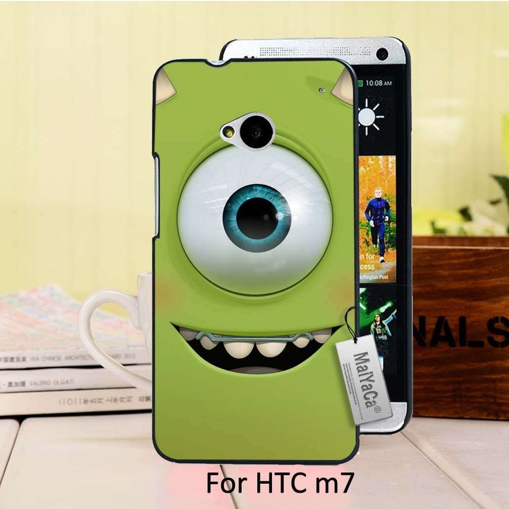 MaiYaCa Unique Design Newest The Fashion phone case For case HTC One M7 Funny Green Popeyes