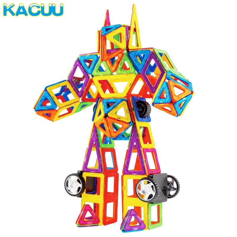 1 шт. стандартный размер магнитной здания Конструкторы 24 различных типов детские развивающие Игрушечные лошадки DIY Конструкторы магниты Иг...