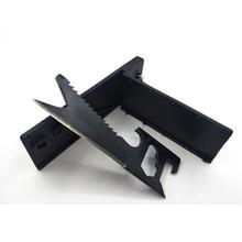 купить Multi-function 7 in 1 Mini Portable Pocket Saber Cards knife credit key chain EDC knife outdoor survival Camping Travel tool онлайн