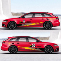 TAIYAO car styling sport car sticker For Audi A6 S6 RS6 car accessories and decals auto sticker