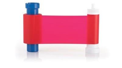 Compatible Magicard résine rouge Ruban rouge monochrome film de colorant MA1000R 1000 Impressions/rouleau