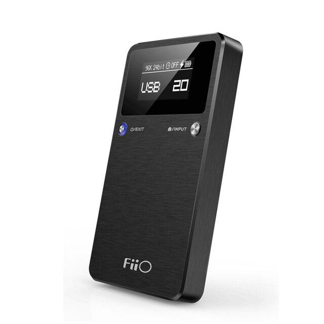 Портативный USB цап усилитель для наушников Fiio E17K 192 кГц / 24-разрядный HIFI без потерь для mp3-плеер Fiio x1 x3 x5 телефона пк Pad L7