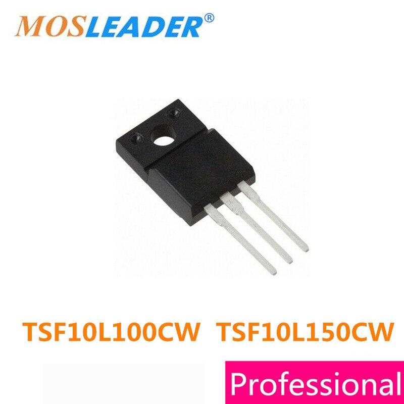 Mosleader TSF10L100CW TSF10L150CW TO220F 50 шт. TSF10L100C TSF10L100 TSF10L150 TSF10L150C ITO-220AB высокое качество Шоттки