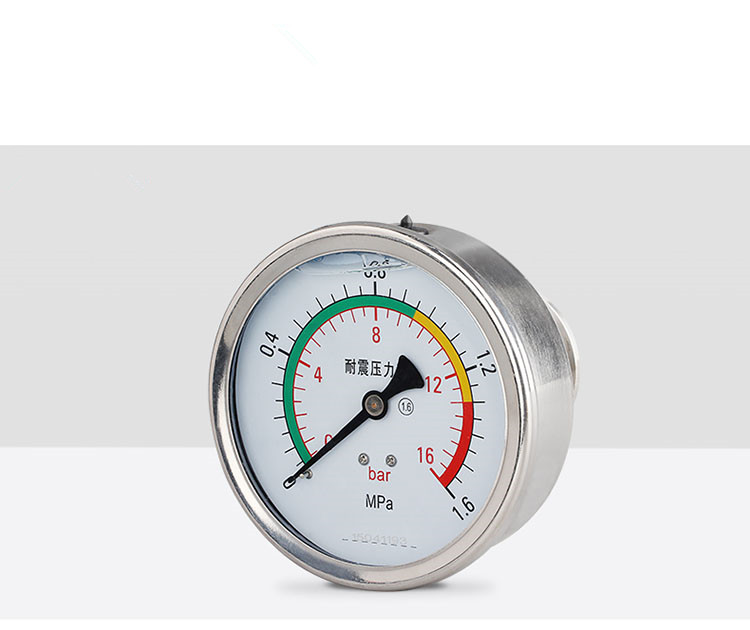 цены Axial 1.5in. (50.5mm)Tri Clamp Daiphragm Pressure Gauge-SS304 Stainless Steel Membrane Gauge