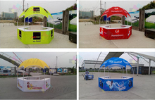 Теплообмен полный Цвет печати купол рекламы выставка Палатки