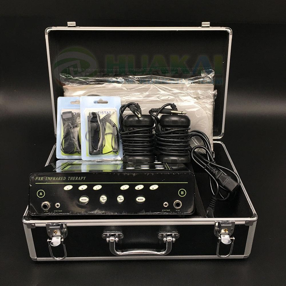 Popular used in the world foot detox ionic chi spa machine with dual LCD display new aqua chi pro detox foot spa bio energy machine