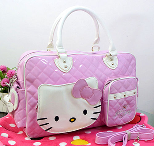 5f53dcf97700 New Hello kitty Large Handbag purse Travel Shopping tote Bag yey-2089P