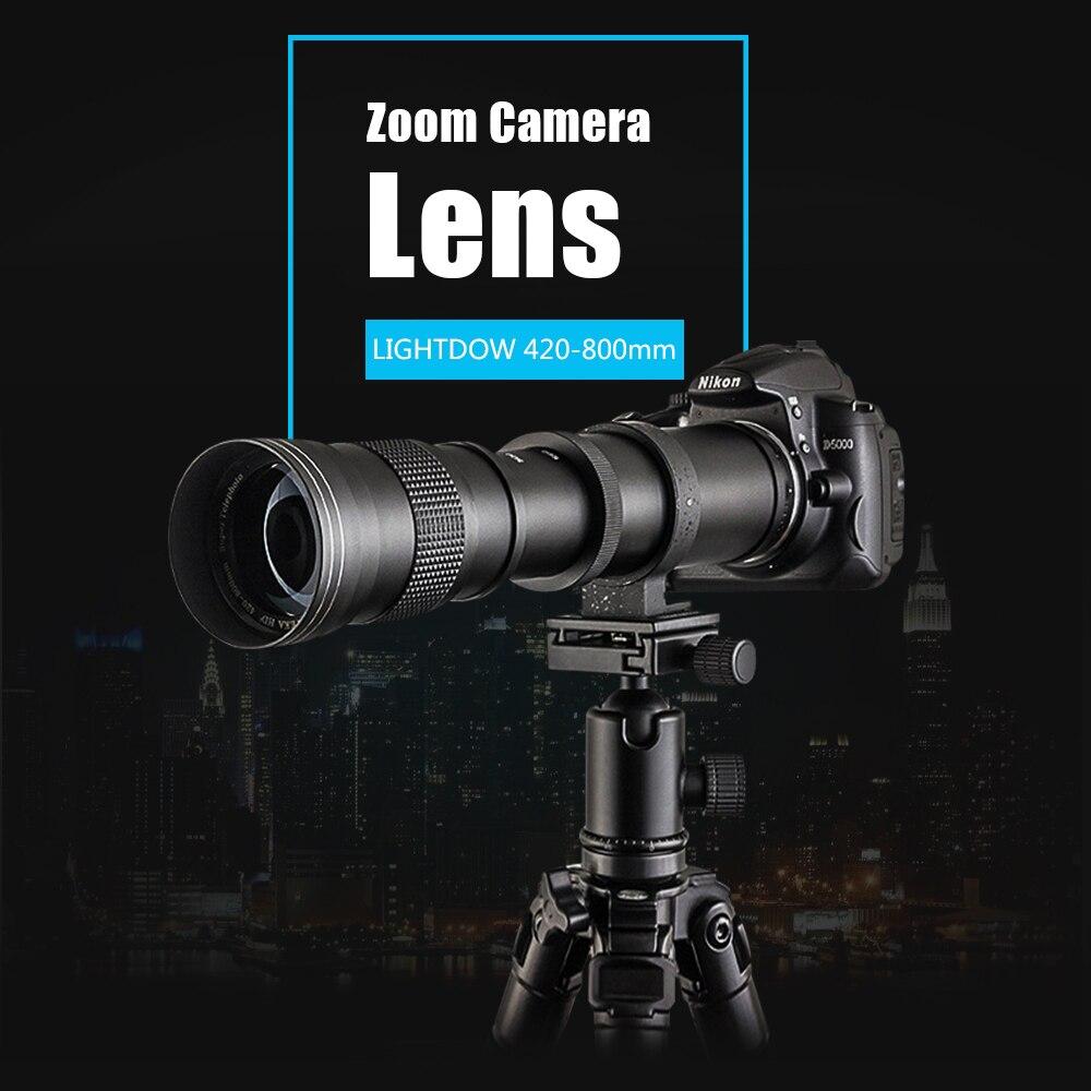 Mcoplus Super Telephoto Lens Manual Zoom Lens for Nikon D7100 D5300 D3100 D3200 D5000 D5100 D5200