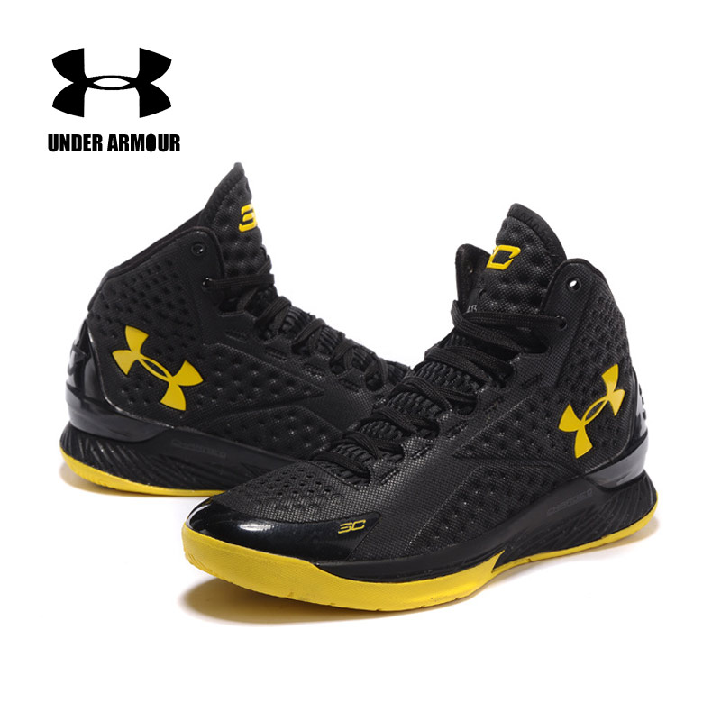 Basketball Shoes Under Armour Men Shoes Curry V1 Man Training deportiva Male high-Top Cushioning Light classic Sports SneakersBasketball Shoes Under Armour Men Shoes Curry V1 Man Training deportiva Male high-Top Cushioning Light classic Sports Sneakers