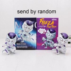 Image 2 - 11cm אנימה דרקון כדור לוחם Z Majin Buu סלולרי PVC פעולה איור צעצועי מודל ילד Buu Freeza frieza פינה מ