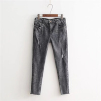 Plus Size Skinny Women Jeans Woman Jeans For Girls Stretch Mid Waist Jeans Female Pants