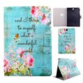Slim Book Case for Samsung Galaxy Tab E9.6 T560 T561 Tablet Painting Folio Flip Stand Case Cover  for Samsung Tab E 9.6 Funda