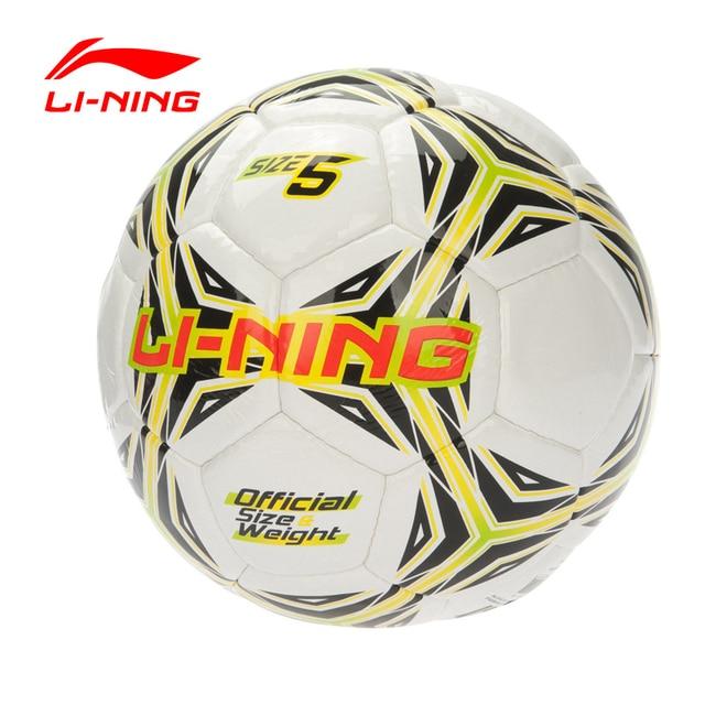 Li-Ning Men's Soccer Size 5 Training Series PVC LiNing Sports Soccer AFQL088 ZYF134