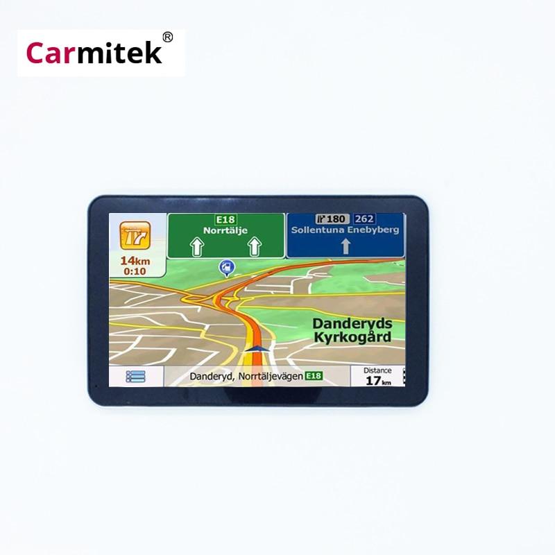 4,3 zoll 5 zoll 7 zoll Auto GPS Navigation Navi 256/4GB Navigatoren FM MP3 MP4 Spieler Keine bluetooth Keine AV IN