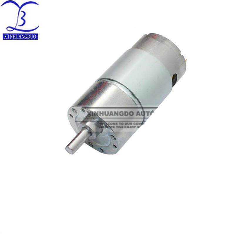 Free Shipping 12V 16RPM 54rpm 295rpm 688rpm 2000RPM 2.5Kg.cm high power.High torque miniature dc gear motor, motors JGB37 550