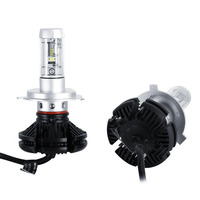 X3 H1 H3 H4 H7 H8 H11 9005 9006 H13 Car LED Headlights Bulbs 50W 6000LM