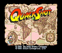 Quack Shot - Sega Mega Drive For Genesis 1