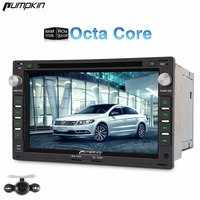 Pumpkin 2 Din Android 6 0 Car DVD Player GPS Navigation Qcta Core Car Stereo Radio