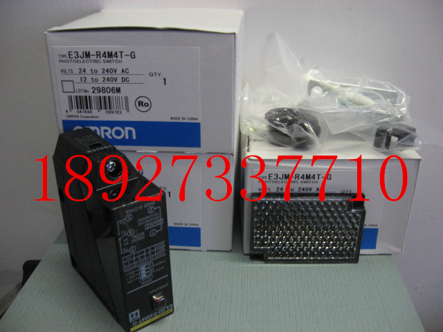 [ZOB] New original OMRON Omron photoelectric switch E3JM-R4M4T-G [zob] new original omron omron photoelectric switch ee sx974 c1 5pcs lot
