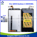 De calidad superior original de pantalla lcd para asus zenfone 2 ze550ml z008d lcd completo con pantalla táctil digitalizador asamblea + herramientas