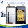 Top qualidade original display lcd para asus zenfone 2 ze550ml z008d lcd completo com tela de toque digitador assembléia + ferramentas
