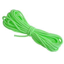 ¡ PROMOCIÓN! $ number Libras Paracord Del Paracaídas de Nylon Luminous Glow In the Dark 9 Core Strand 6 M Verde
