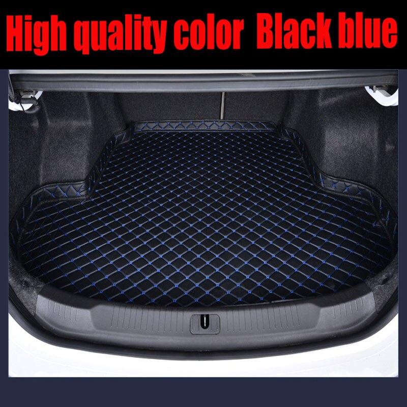 Custom car Trunk mats Case for Buick Enclave Encore LaCrosse Regal Excelle GT XT leather Anti slip carpet liner