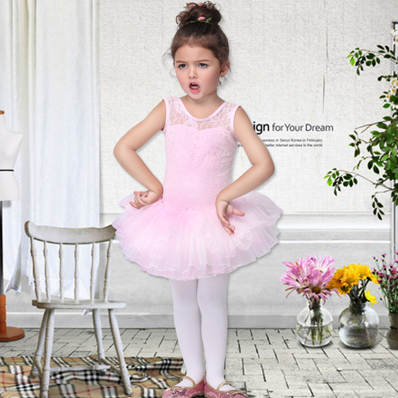 Fashion Hot Princess Dance Kid Girls Sleeveless Leotard -7191