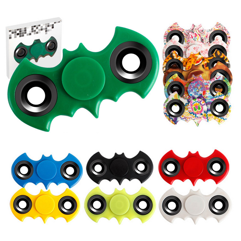 Hand Spiner Fidget Spinner Batman Stress Cube Fidget Spinner Finger ADHD Toy Adults Focus Anti Stress