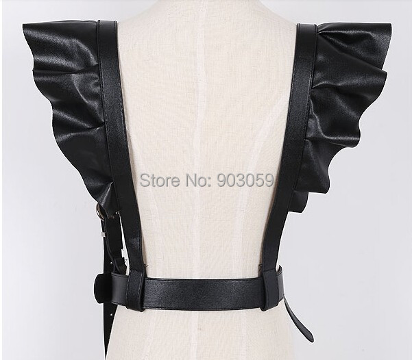 6cfe49ca94f3 Harnais vente Chaude ceinture De Luxe Marque Clip Femmes en cuir bretelles  Pantalons Bonne Qualité Clips