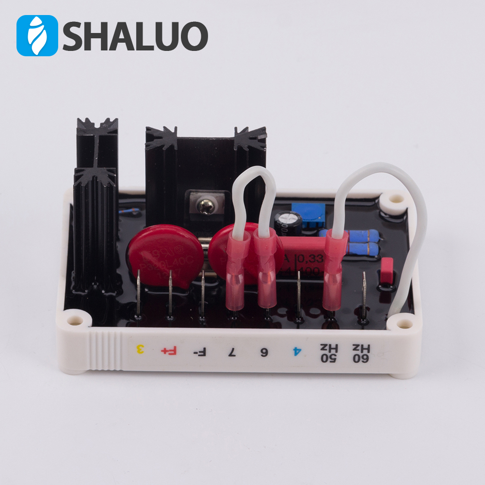 SHALUO single phase AVR VR63-4  Brushless Alternator Automatic Voltage Regulator Compatible with Basler regulatorSHALUO single phase AVR VR63-4  Brushless Alternator Automatic Voltage Regulator Compatible with Basler regulator