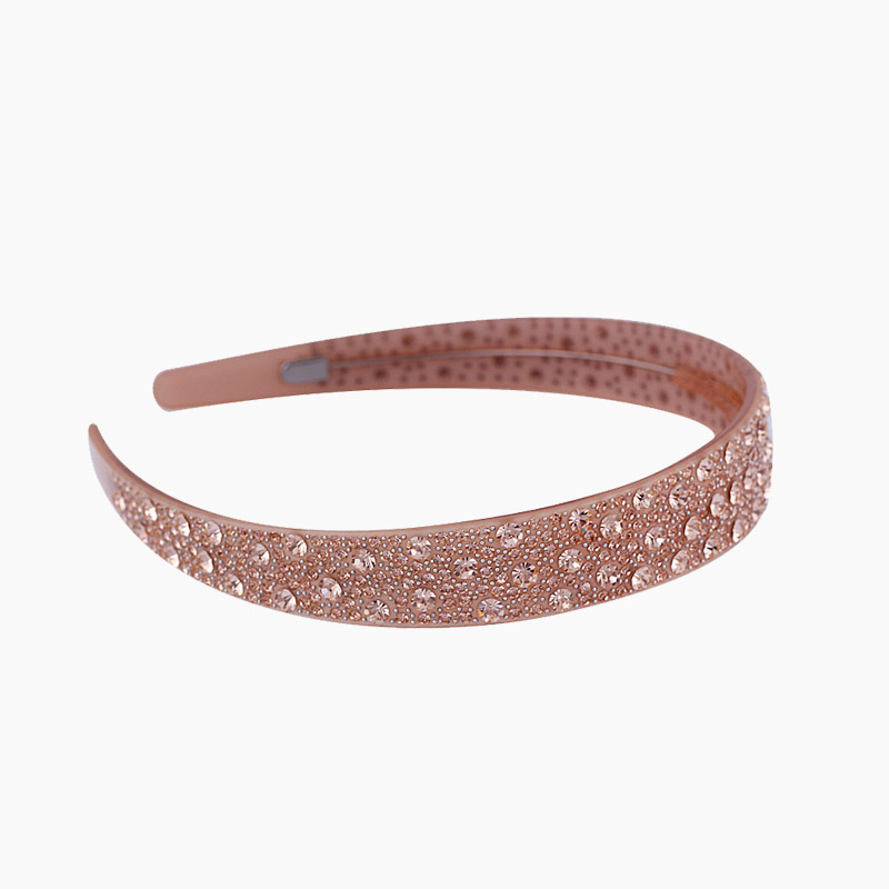 2.2cm length Headwear Hairpin Bling crystal Rhinestone Hair hoop with tooth Acrylic hairbands hairwear clampsHair Accessories