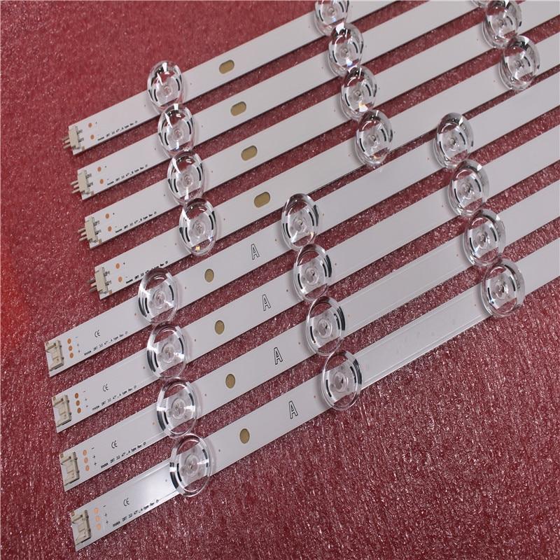100%New 8 PCS Strip  LED Strip Replacement For LG 47LB6300 Innotek DRT 3.0 47 Inch A B 6916L 1715A 1716A 6916L-1961A 1962A 1948A