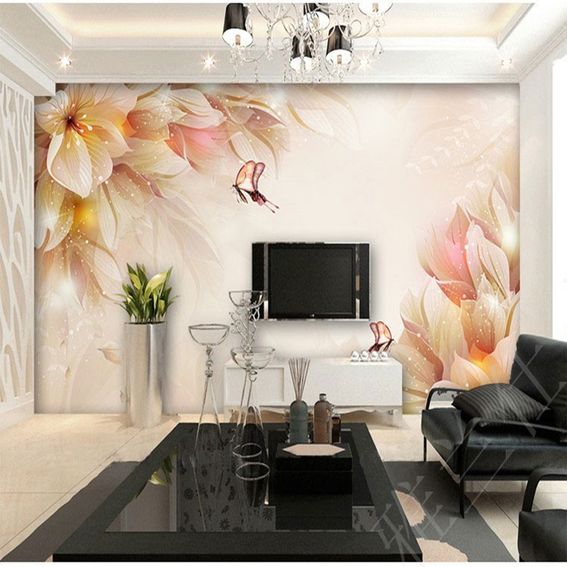 3D wallpaper for wall 3d personality tv background wallpaper sofa painting mural stereoscopic wallpaper for living room
