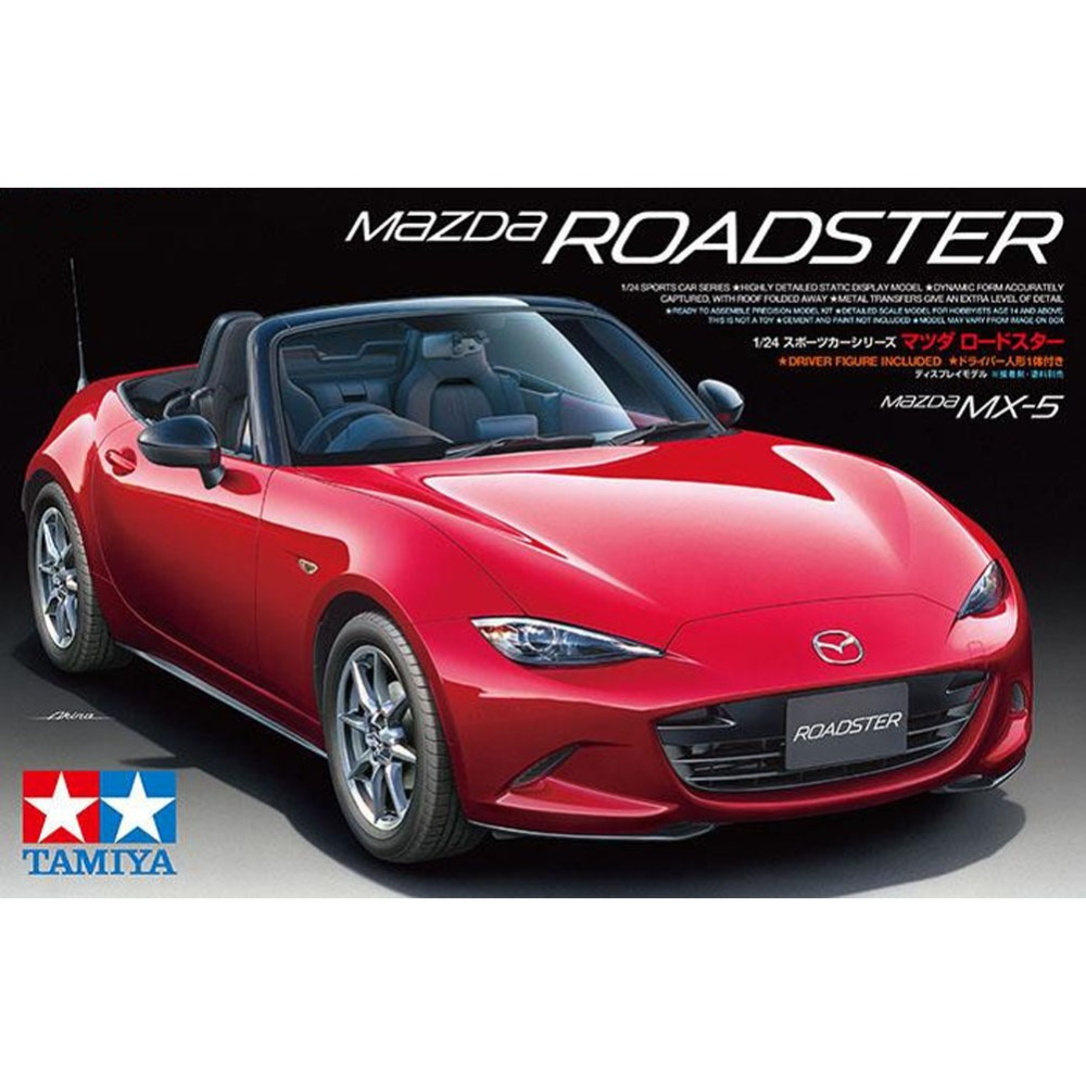 OHS Tamiya 24342 1/24 MX-5 Roadster Scale Assembly Car Model Building Kits oh ohs tamiya 24282 1 24 nismo skyline gtr r34 z tune car model building kits oh