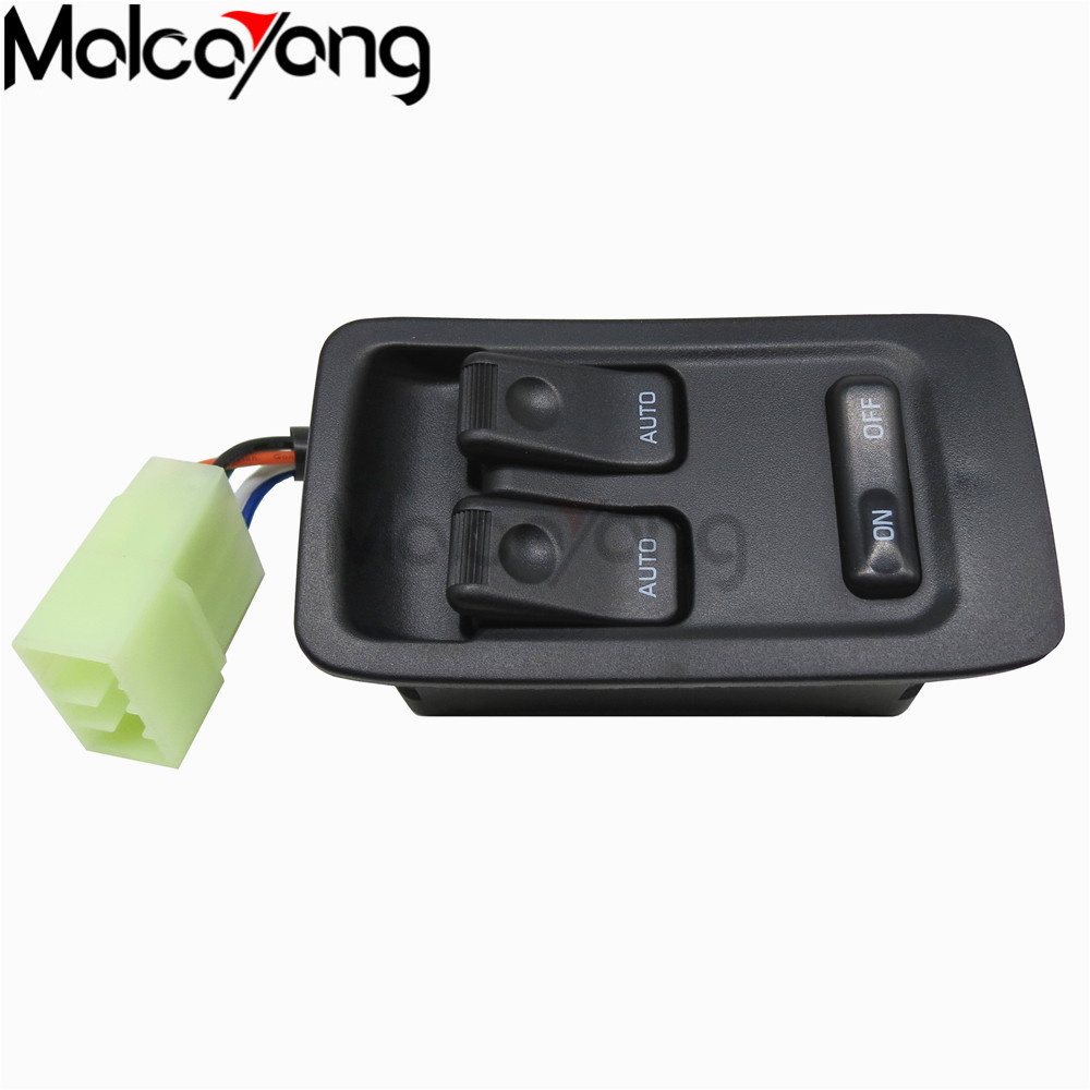 Front Left Button Door Side Left Hand Driver Electric Power Window Switch Control Master Switches for Mazda Rx7 Rx-7 1993-2002 85720 58010 front driver side electric window motor for 2008 toyota 4runner window regulator motor