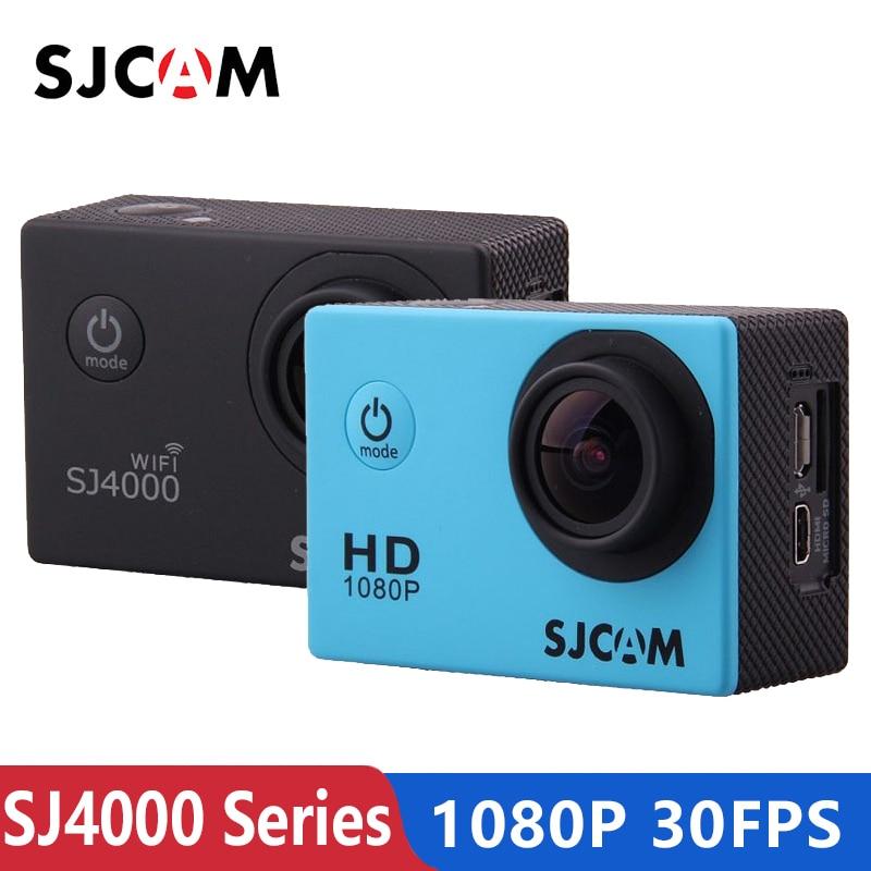 Original sjcam sj4000/sj4000 wifi câmera de ação esporte 2.0 polegada 1080 p hd à prova ddv água câmera subaquática sj cam mini esportes dv