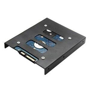 Профессиональный 2,5 дюйма до 3,5 дюйма SSD HDD металлический адаптер стойка жесткий диск SSD крепление