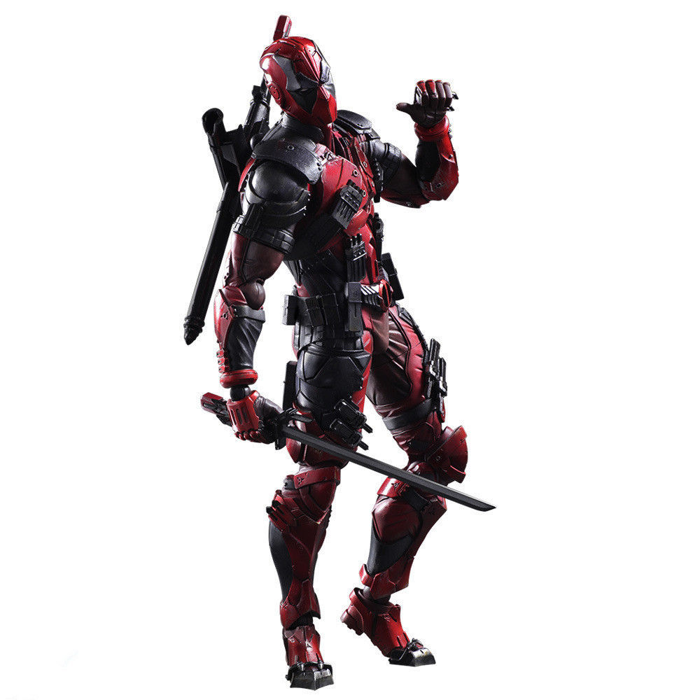 все цены на Deadpool Figure Wolverine X Men X-MEN Play Arts Kai Deadpool Wade Winston 26cm